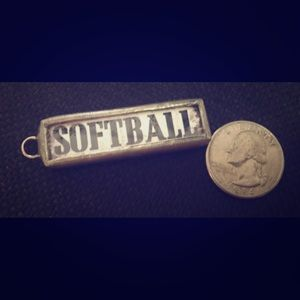 Jewelry - Softball charm